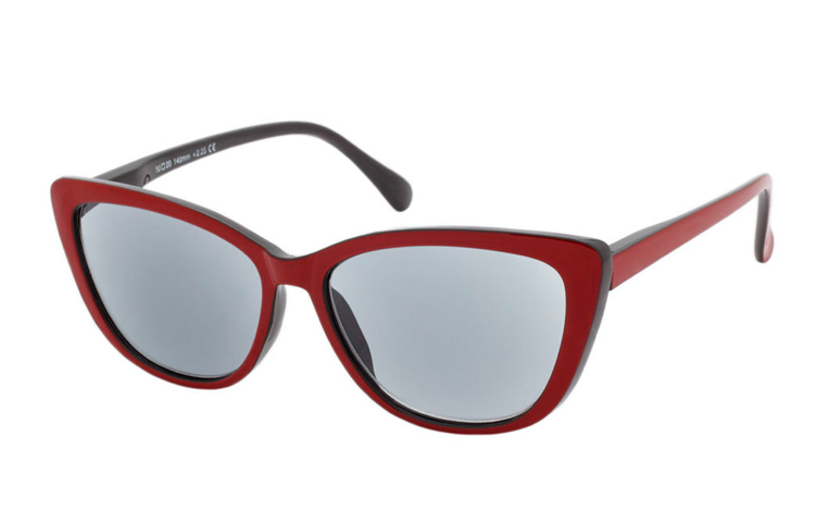 Smart cateye solbrille i retro - vintage look - Design nr. b350