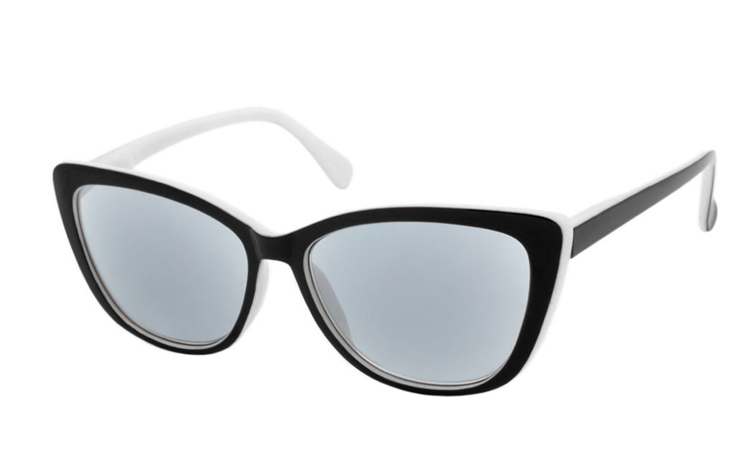 064b0b4afd4f Smart cateye solbrille i retro - vintage look - Design nr. b351